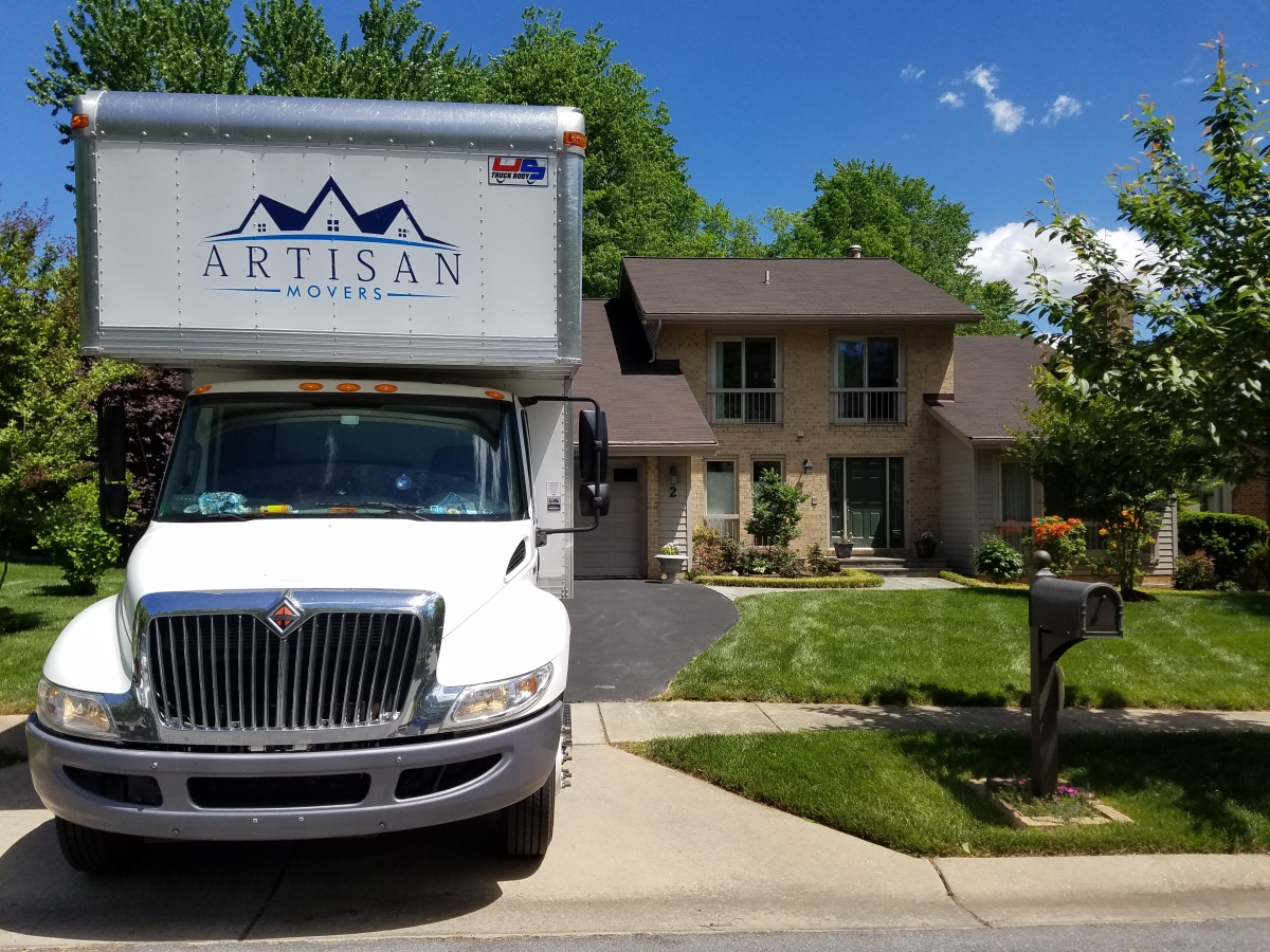 artisan movers in rockville md