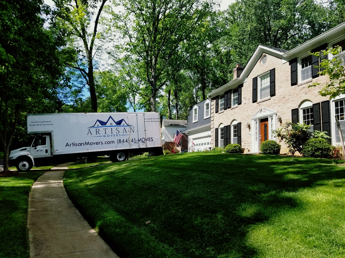 Artisan Movers out of Rockville MD