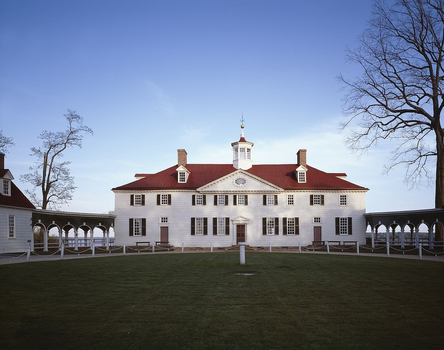 mount vernon home of george of washington in northern virginia